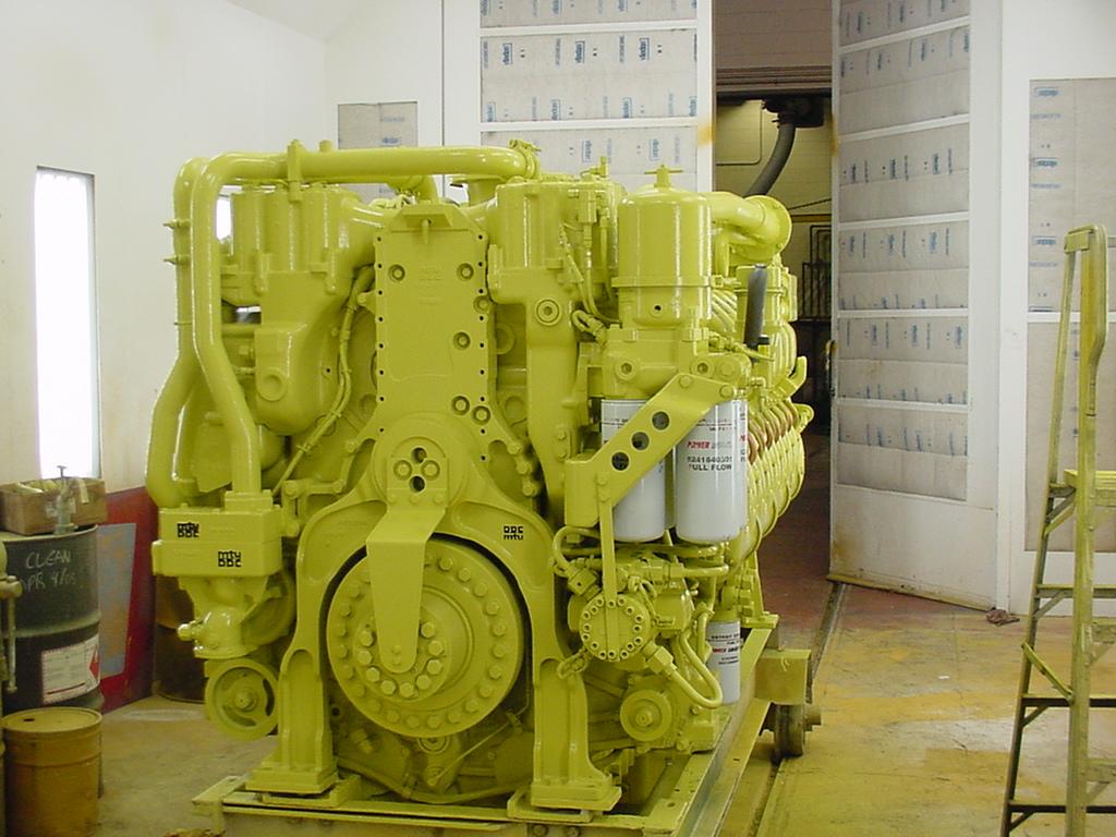 MTU series 4000 Generator Overhaul