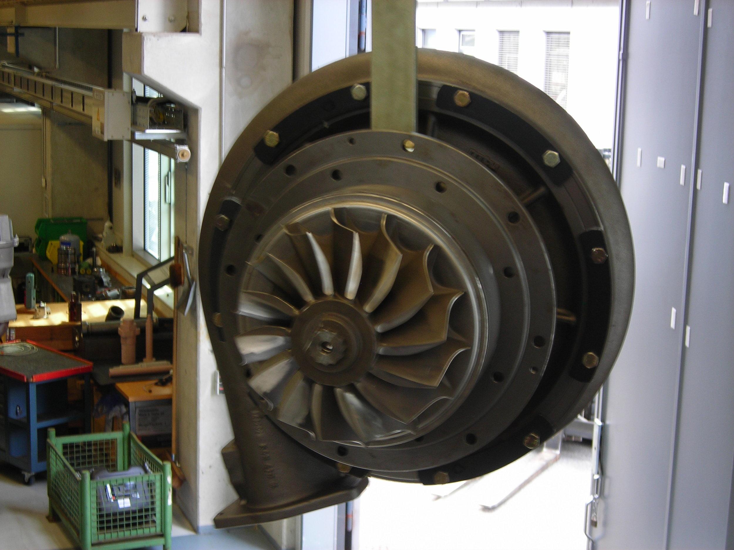 MTU Turbolader
