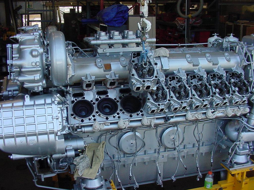 MTU series 4000 M70 Overhaul California Ferry