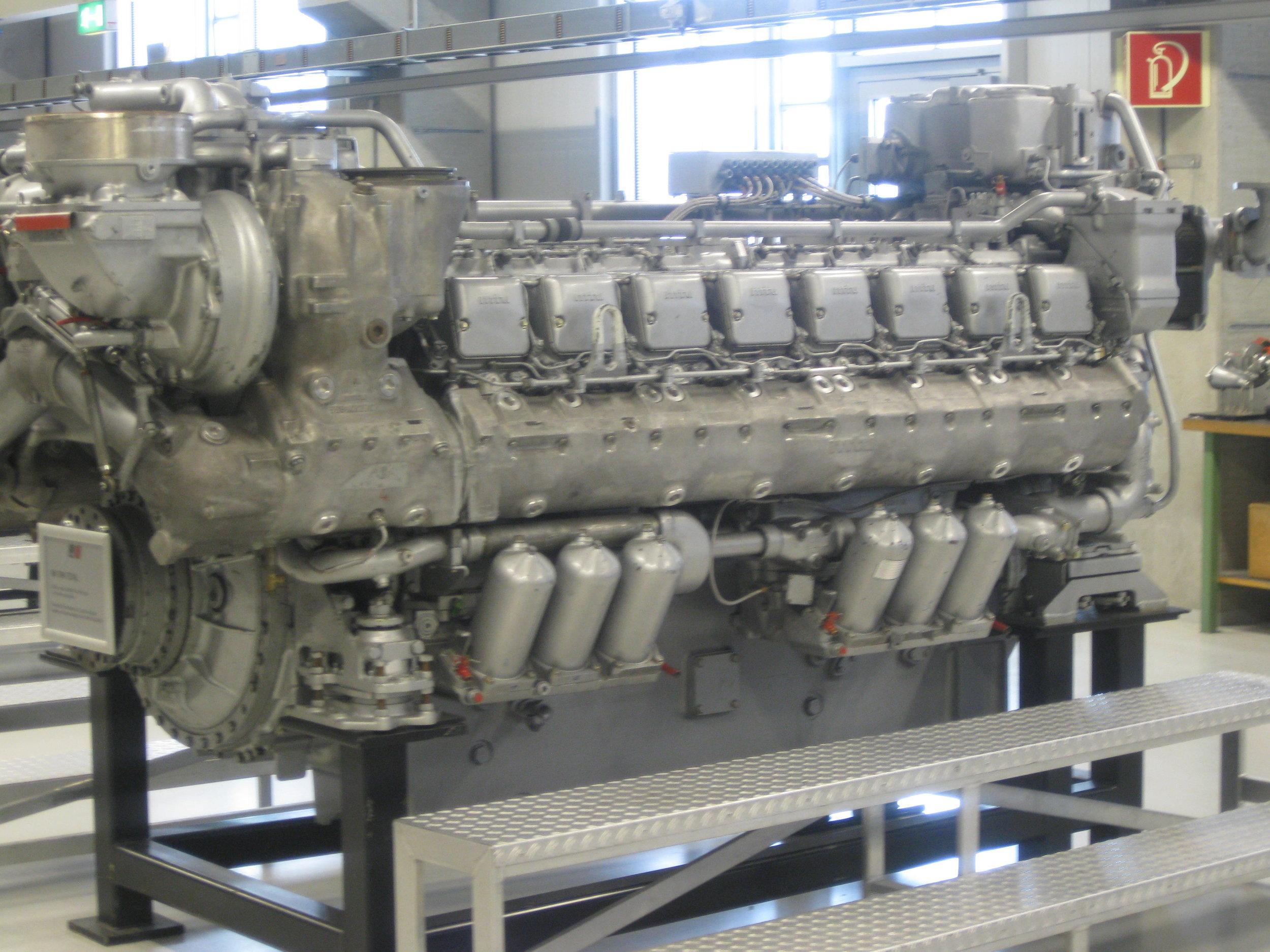 MTU series 396 TE 74 for Ferry 2 engines complete overhaul