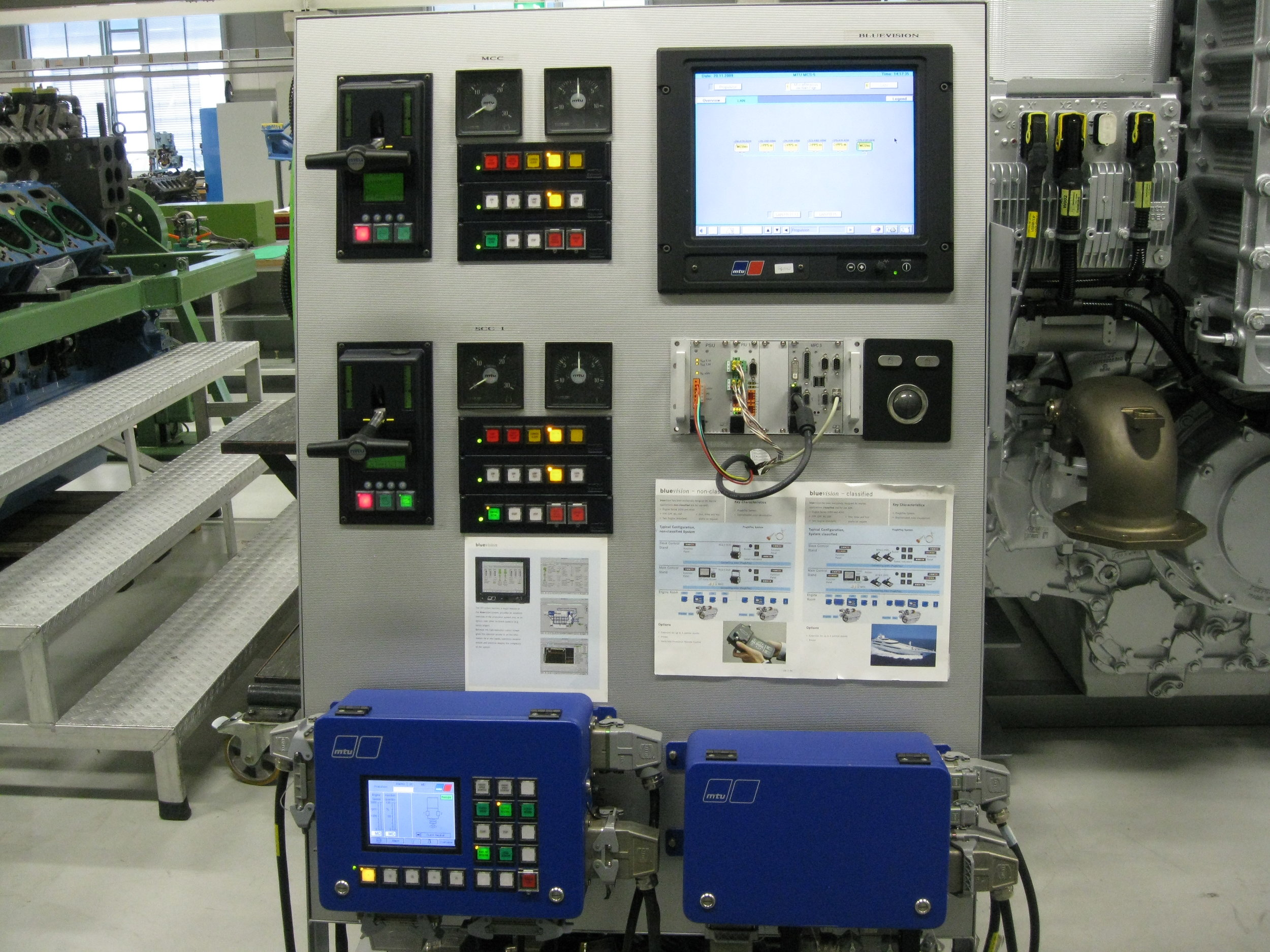 Training MTU Electronics ,Blue line system and MCS 5