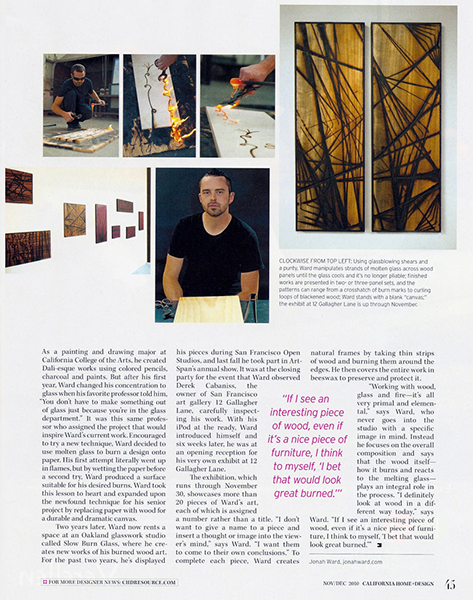California Home + Design - November 2010 - page 2 of 2