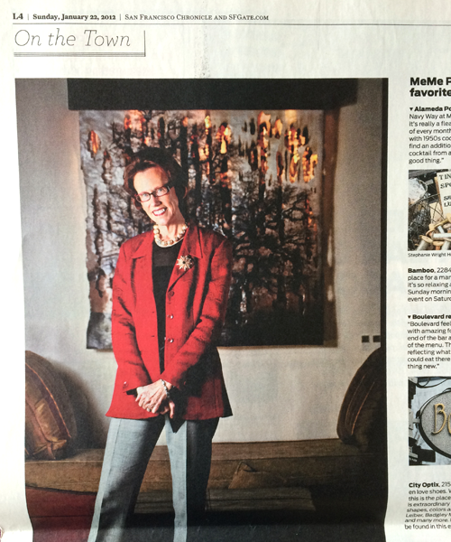San Francisco Chronicle - Style Section - January 2012