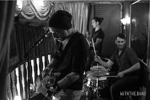 @davecavalier back up in the balcony tonight @sassafrassaloon  10p no cover! 🥁 🤘🏻 📸: @withthe.band