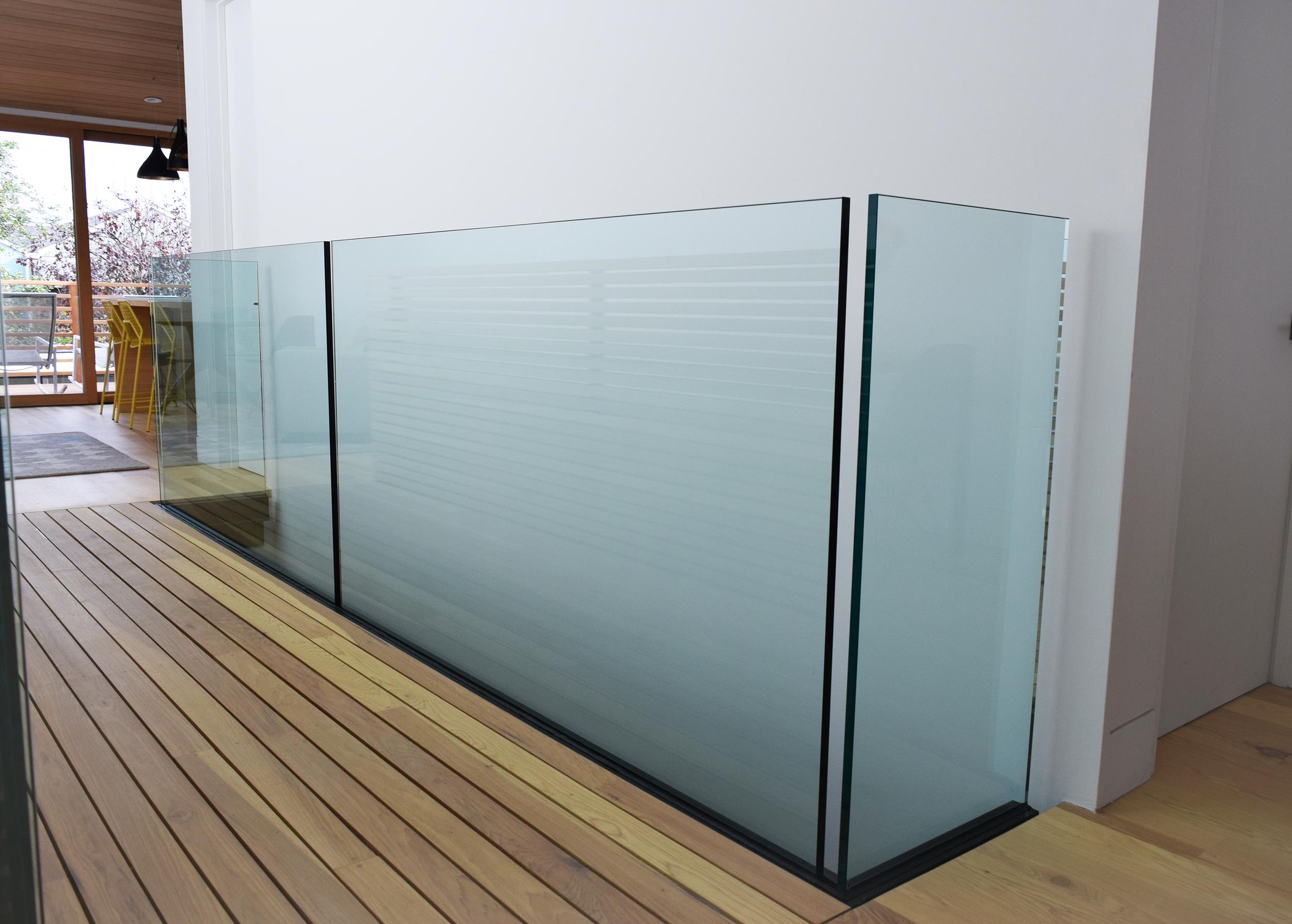 Interior Glass Railng