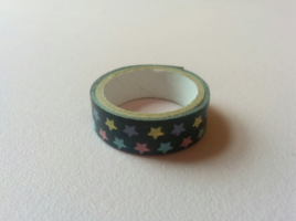 My inspiration for the colour palette was from a roll of washi tape I got in Japan.