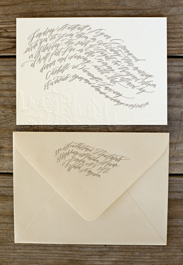 with Betsy Dunlap Calligraphy