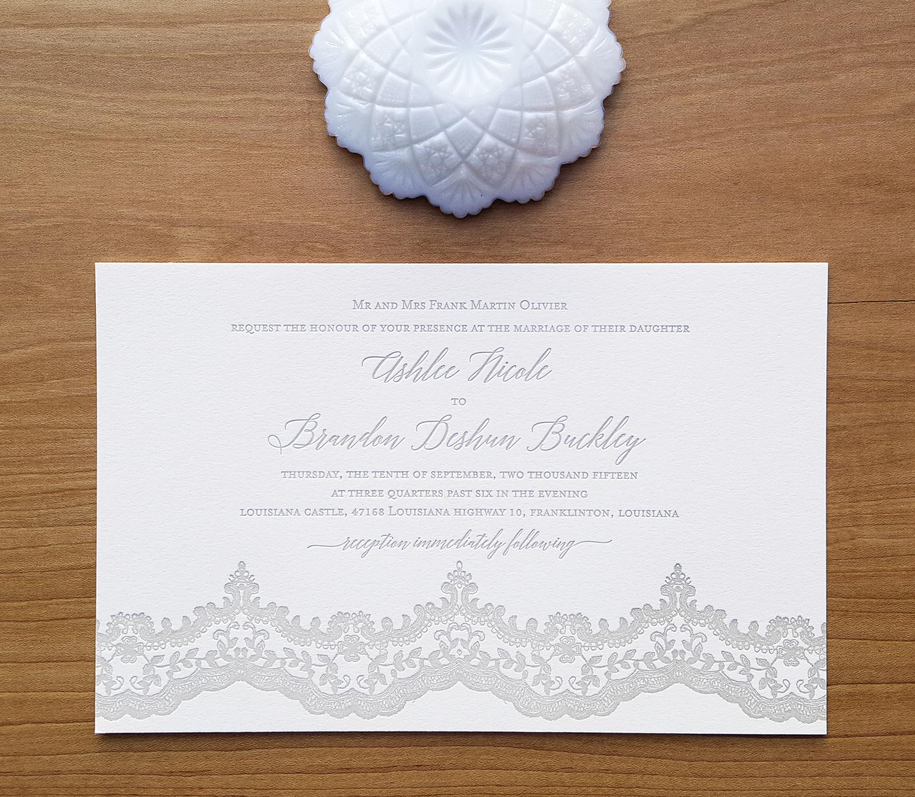 Copy of rustic lace