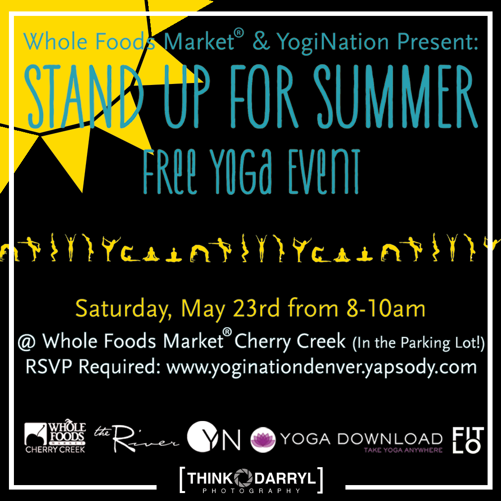 Stand Up For Summer Free Yoga Event