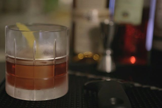 Making some Negroni variations tonight. Here's the Boulevardier, simple and one of my favourites... probably because of the bourbon.