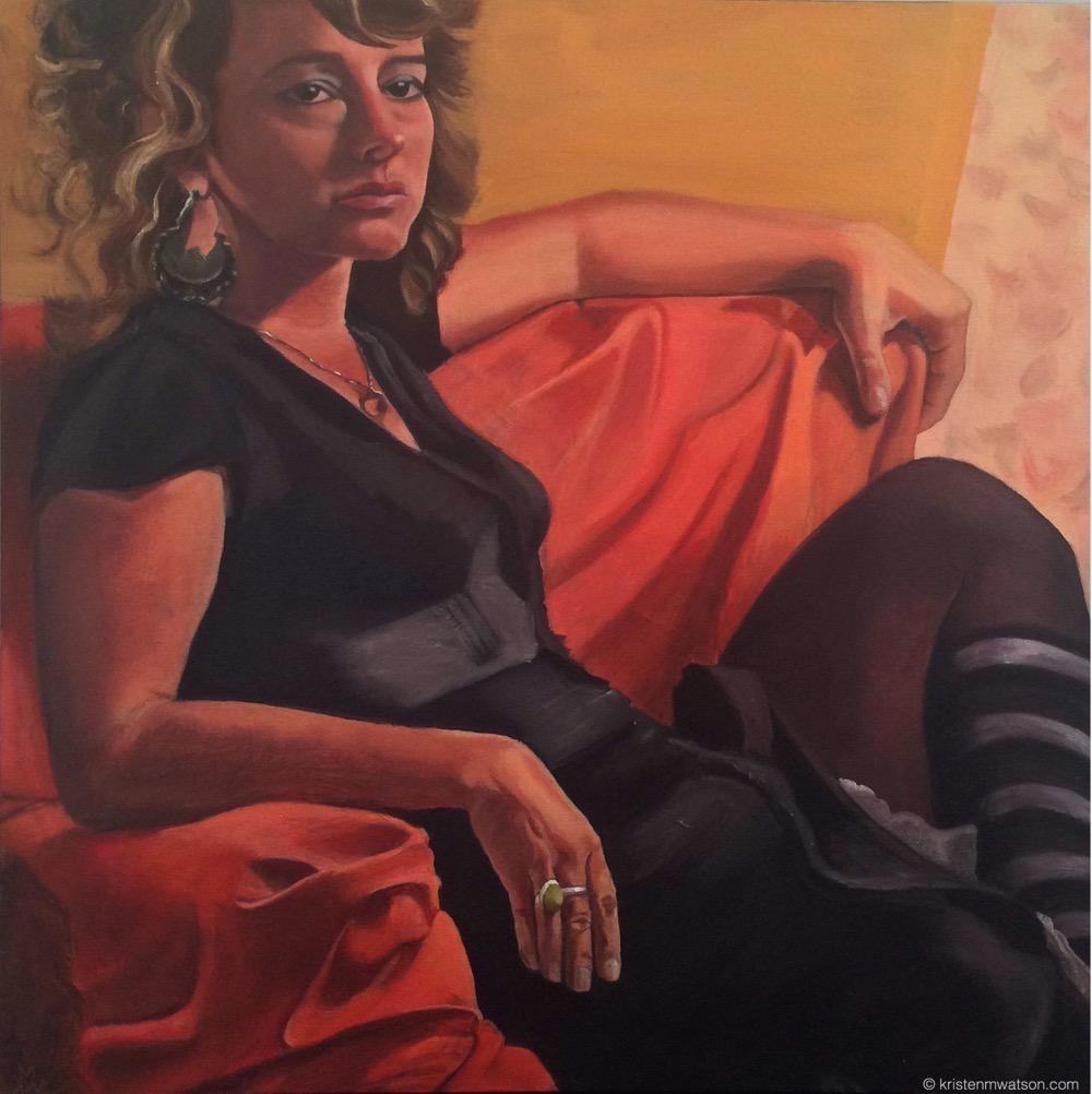 Zelde_oil on canvas_24x24in._©2015 kristen m. watson art studio LLC 2.jpg