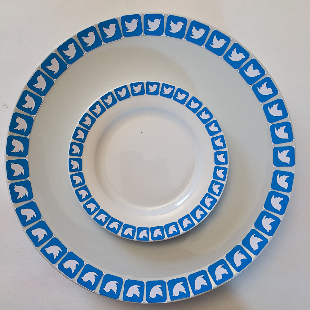 Feed_porcelain plate, adhesive, paper, 2016, kristenmwatson-4.jpg