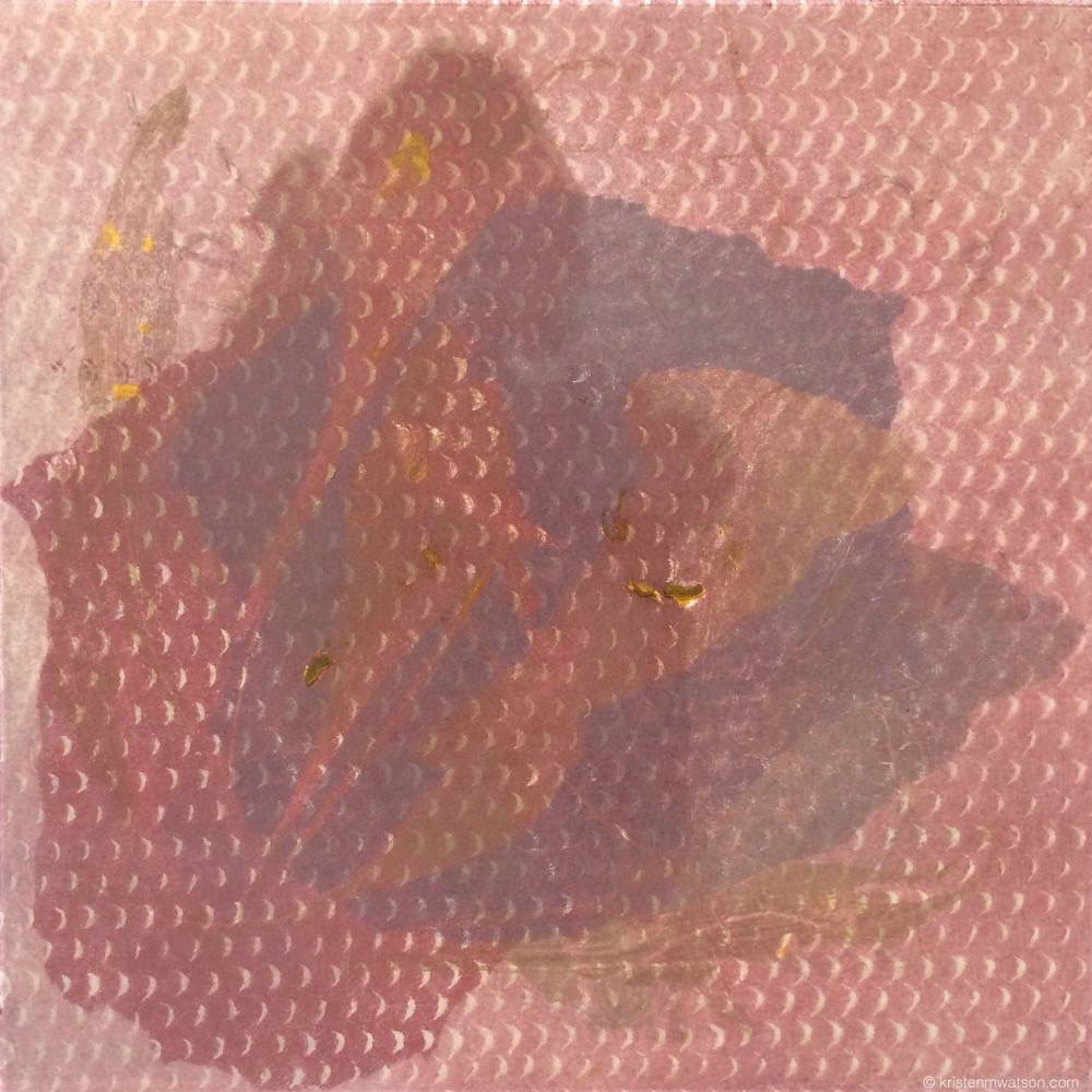Lily deconstructed chine colle monoprint_12x12in_©2015 kristenmwatsonartstudioLLC 2.jpg