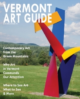 Vermont ARt Guide, Darian Newman, may 2016, click on the image to read the article.