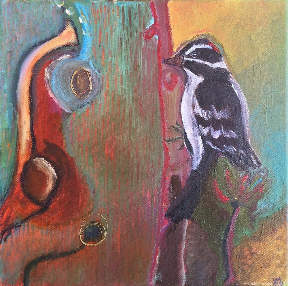 Downy_oil, mixed media on canvas_12 x 12 in_©2015 kristen m. watson art studio llc 2.jpg