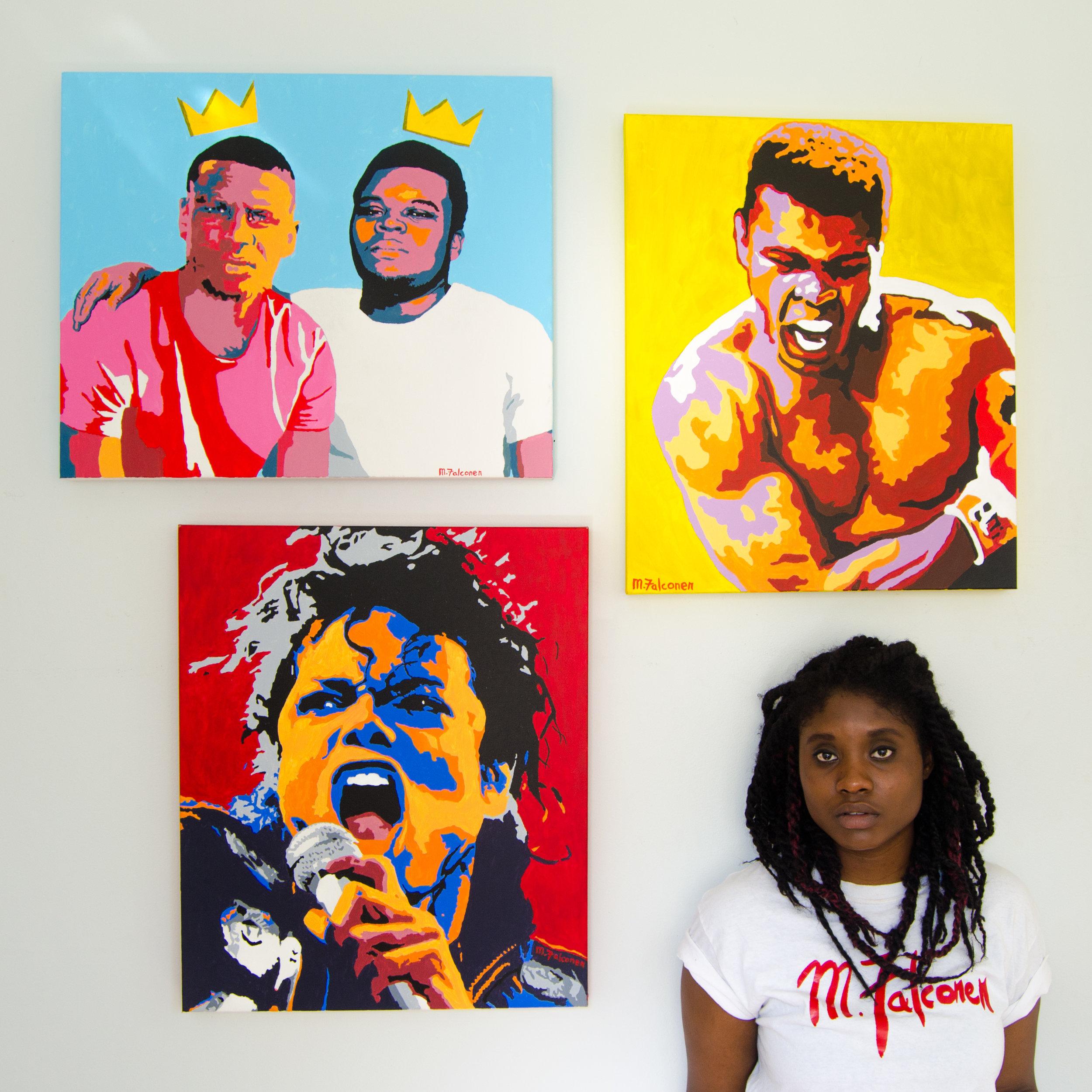 First art show, July 2015