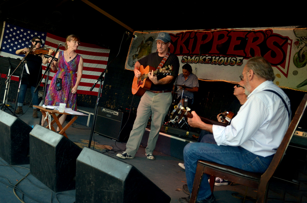 The Joe Milligan Project at WMNF Americana Fest June 18, 2016. Photo credit:John Mazzello.