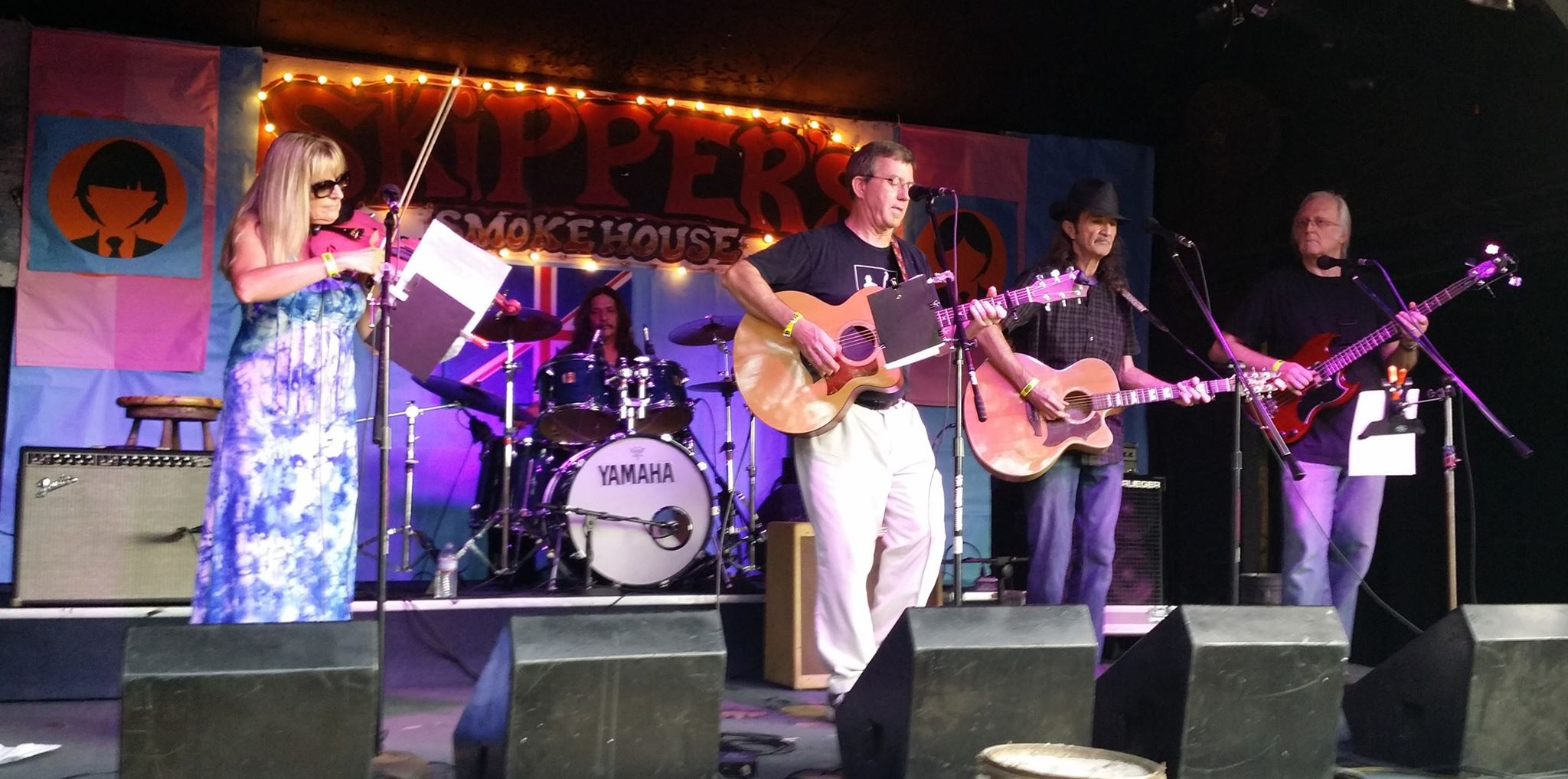 The Joe Milligan Project WMNF British Invasion, Skipper's Smokehouse, Tampa, FL June 13, 2015
