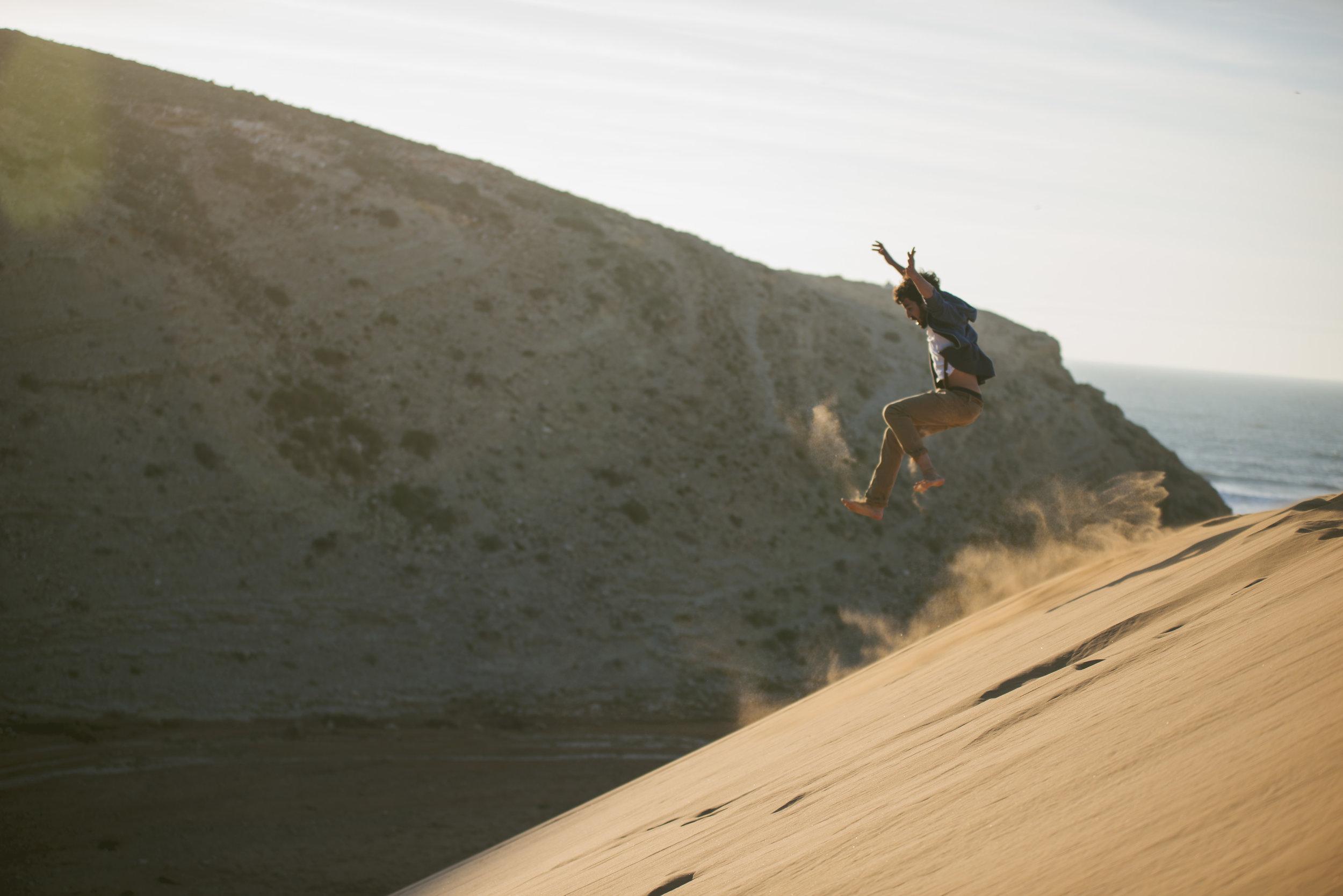 Cómo niños en las dunas de Morocco | Foto: Jaume Ramis