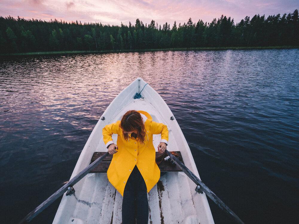 Ruta en canoa por el lago Tommolansalmi | Foto: Álvaro Sanz