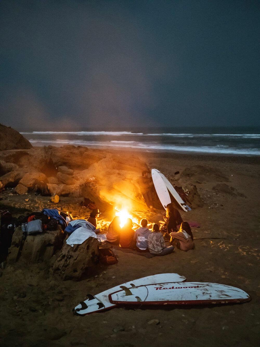 Surf Camp en la costa marroquí de Essaouira | Foto: Álvaro Sanz