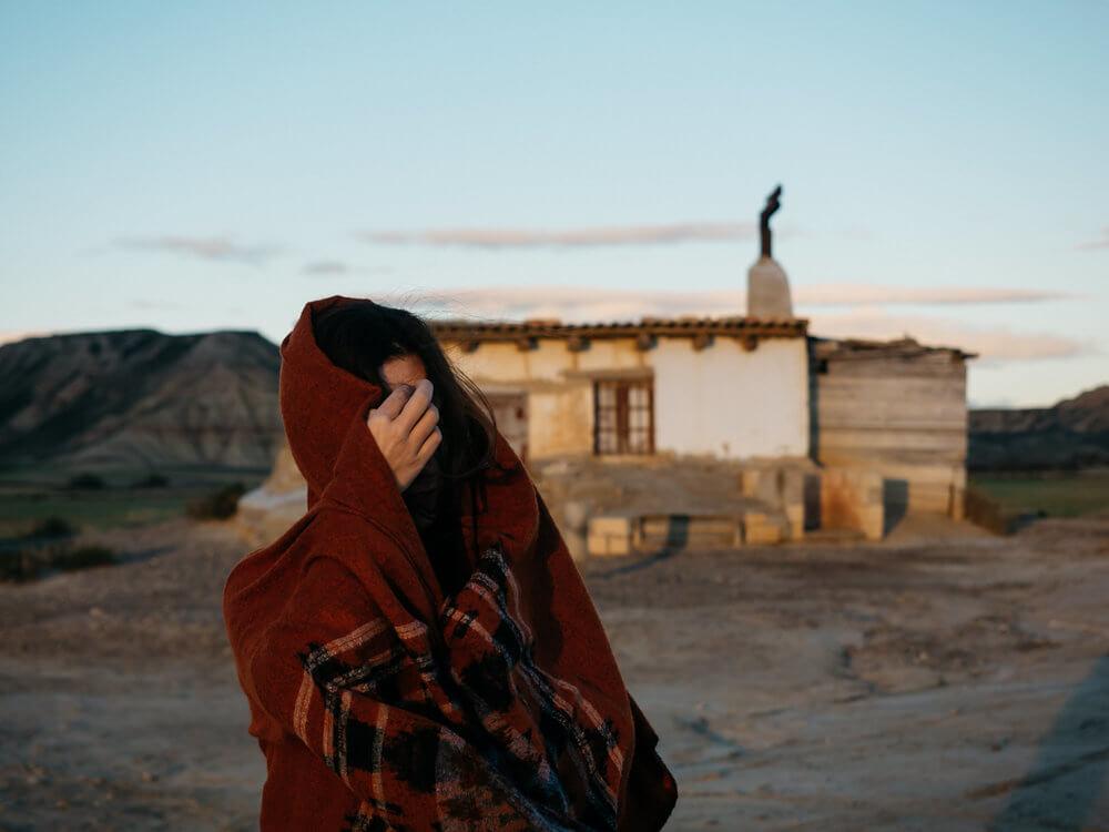 Las casas de Bardenas | Foto: Álvaro Sanz