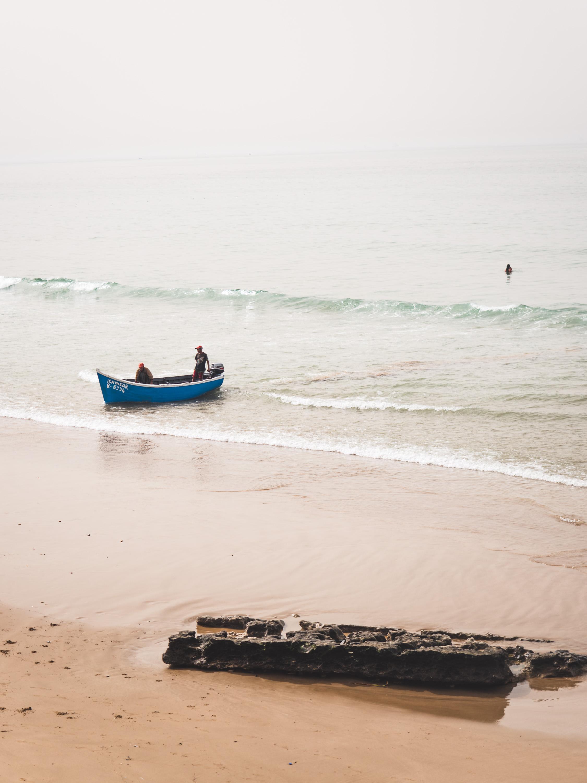 Playa en la costa marroquí | Foto: Jordi Rabal