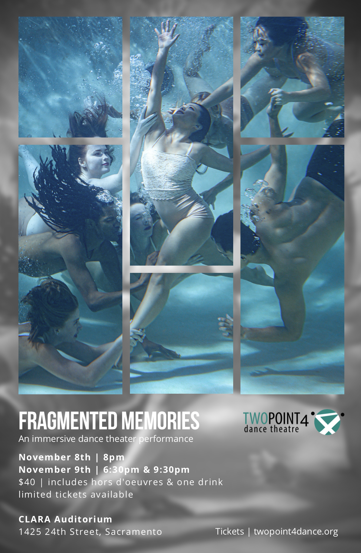Fragmented Memories - Join us for an immersive dance theater performance!