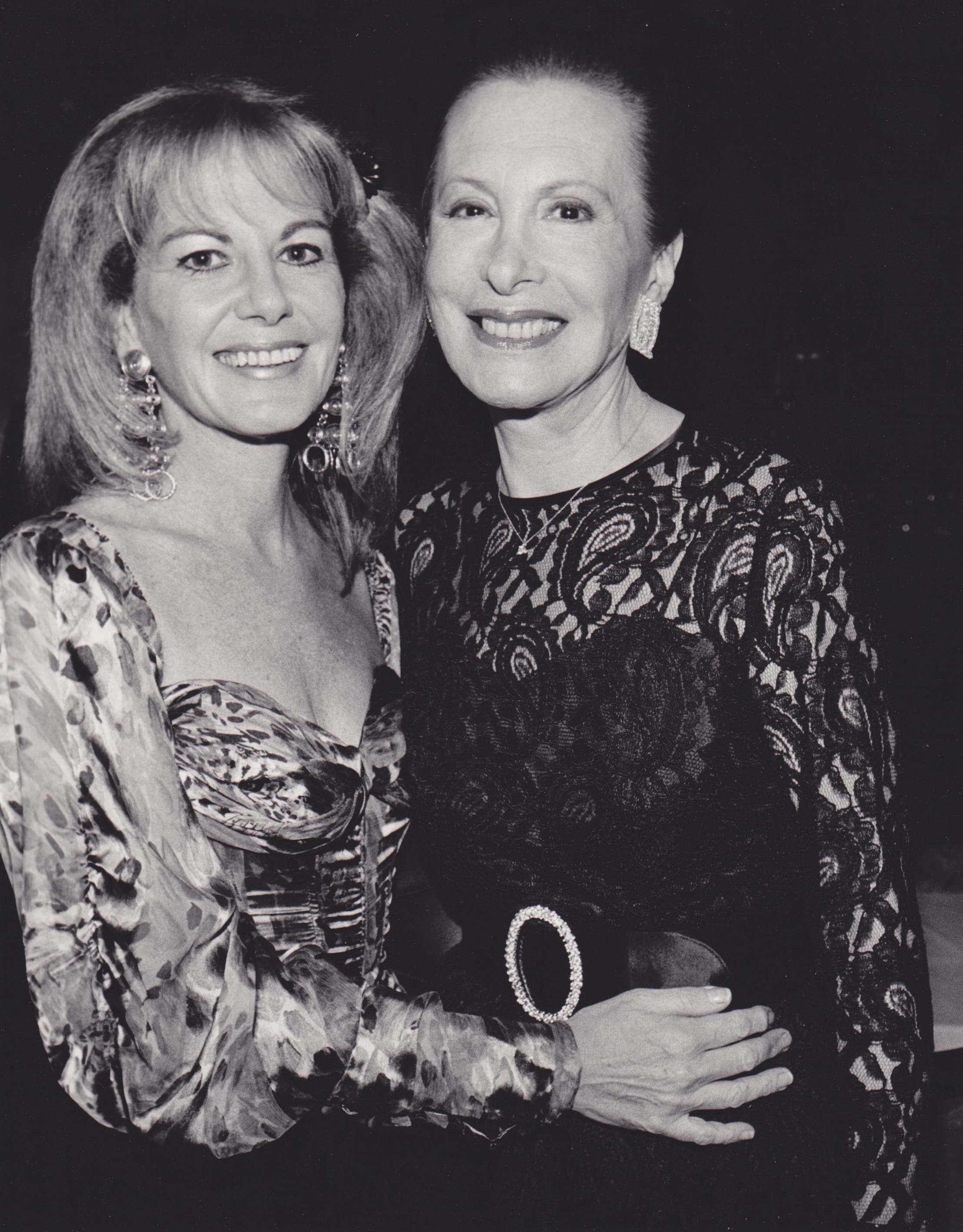 Ellen with Barbara Carroll