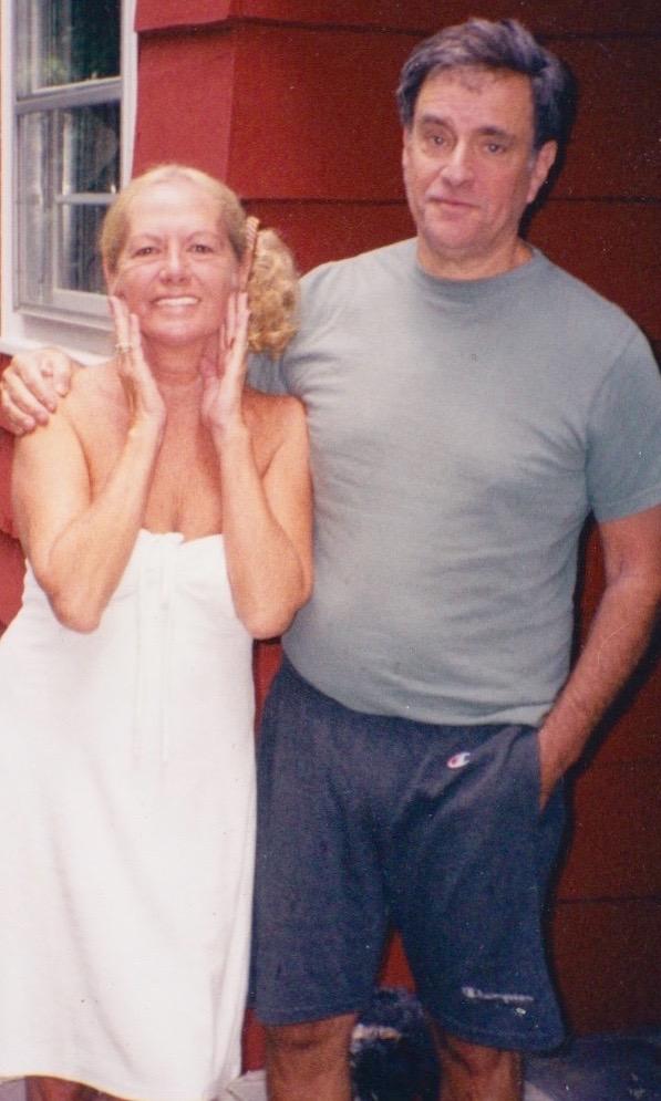 Ellen with her husband Michael
