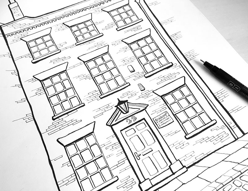 gradcore building drawing