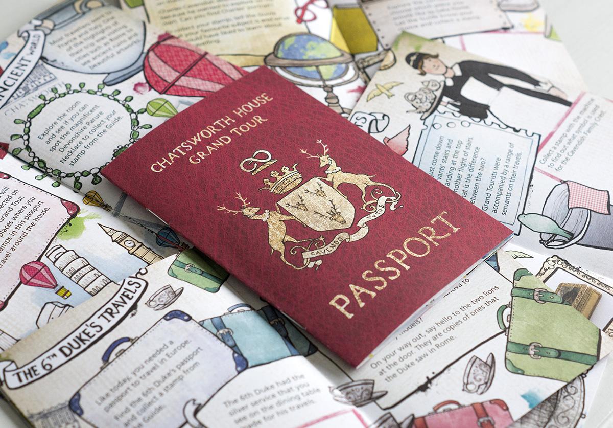 chatsworth house grand tour passport