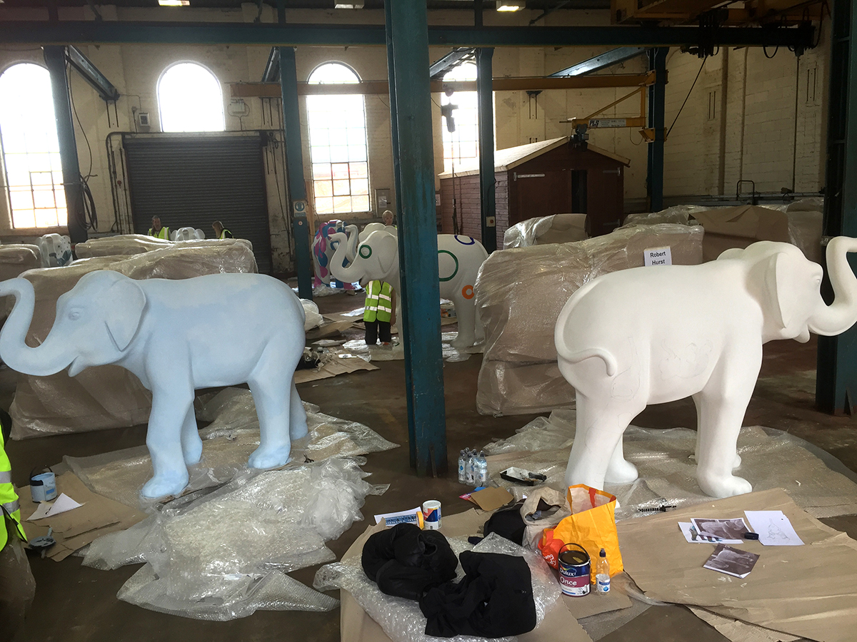 Herd HQ. - AKA. The Great British Paint Off.