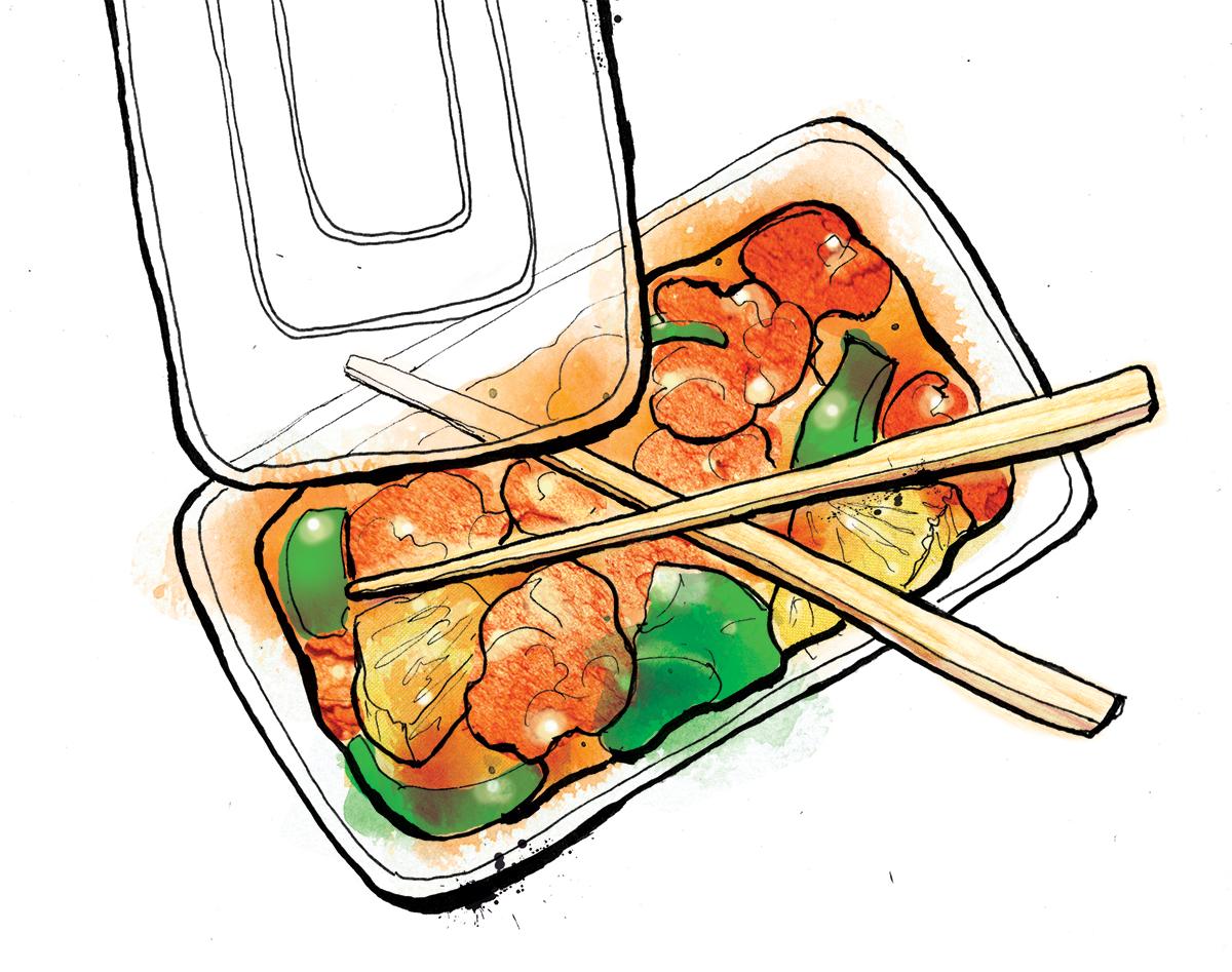 chinese takeaway illustration