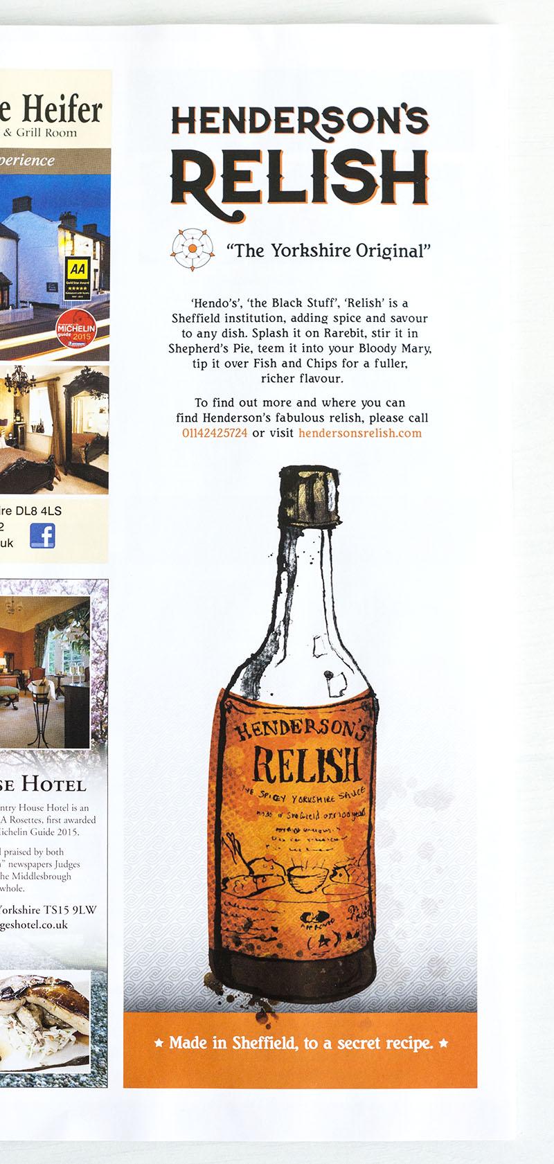 henderson's relish advert