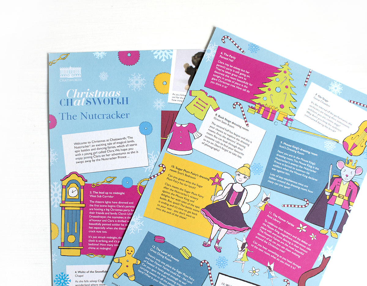 Chatsworth House Nutcracker leaflet