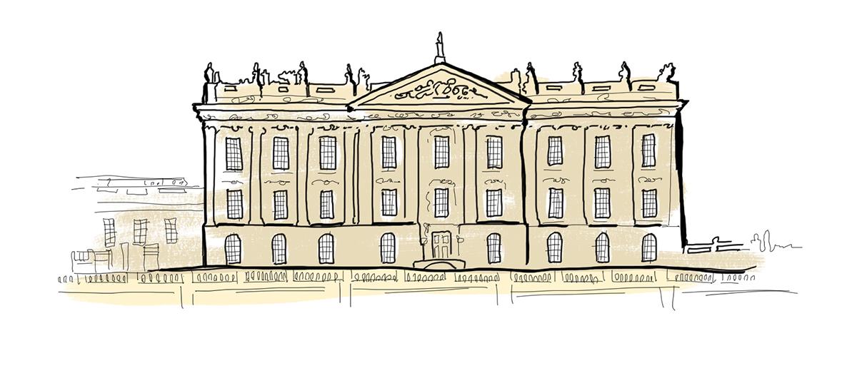 chatsworth house illustration
