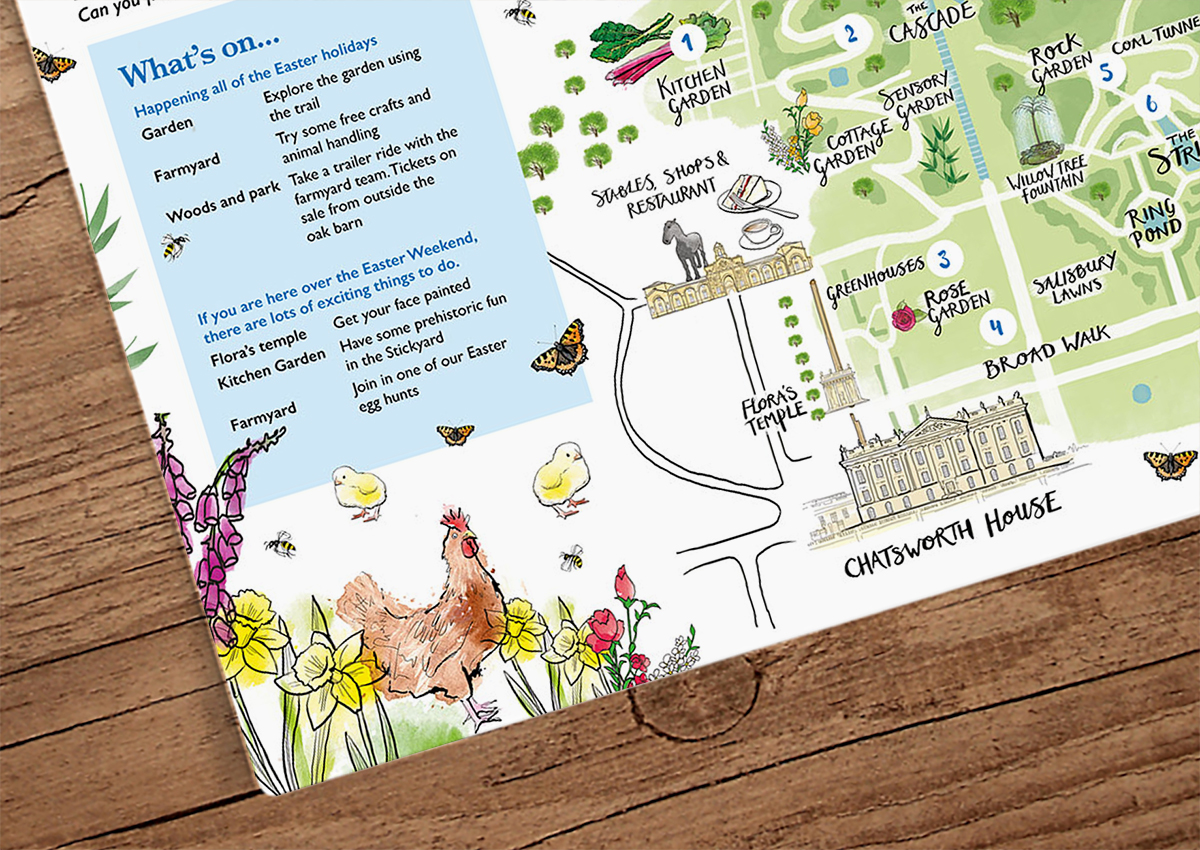 chatsworth House easter trail