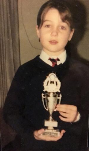 me, aged ten