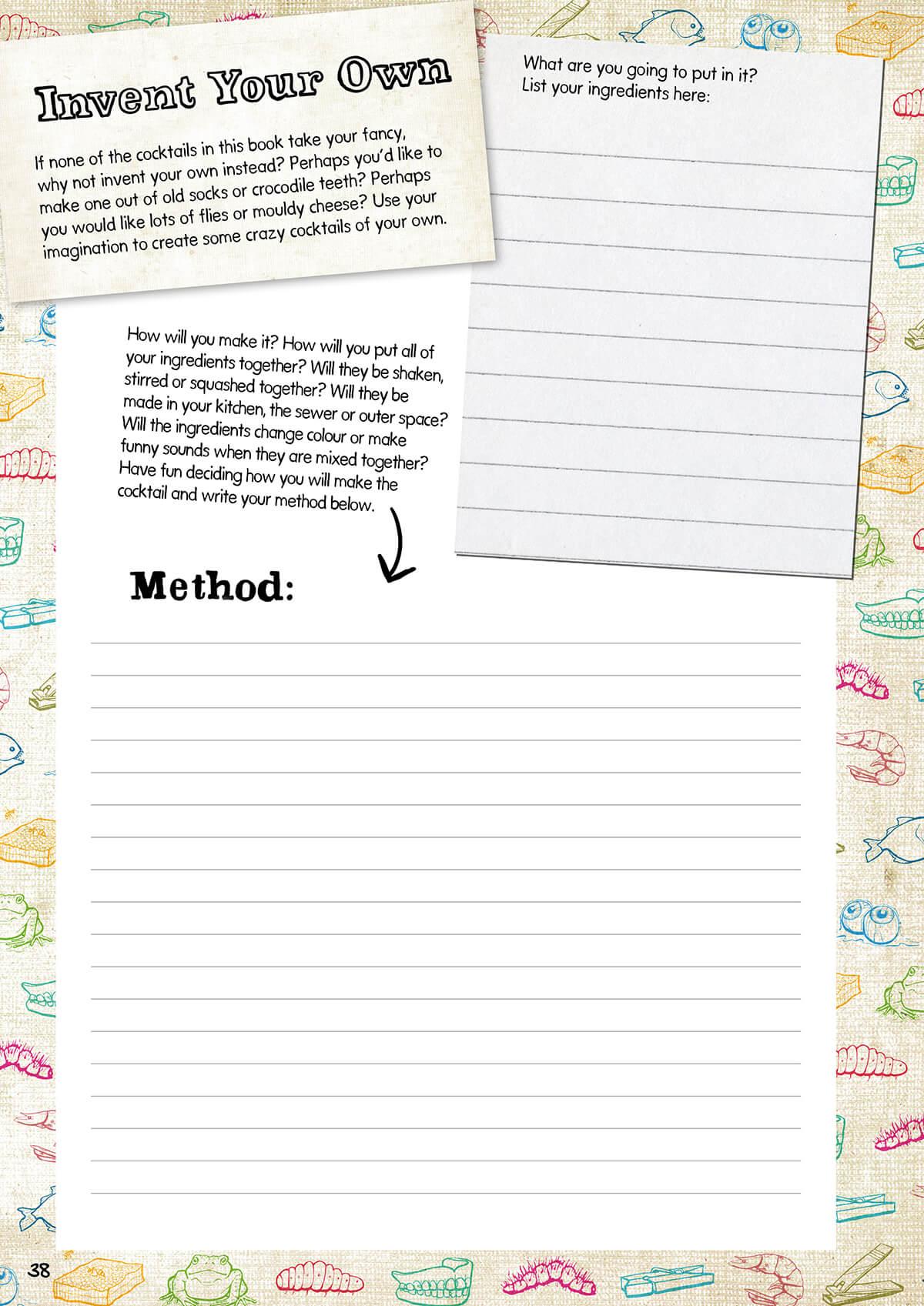 Sheet one, for older children