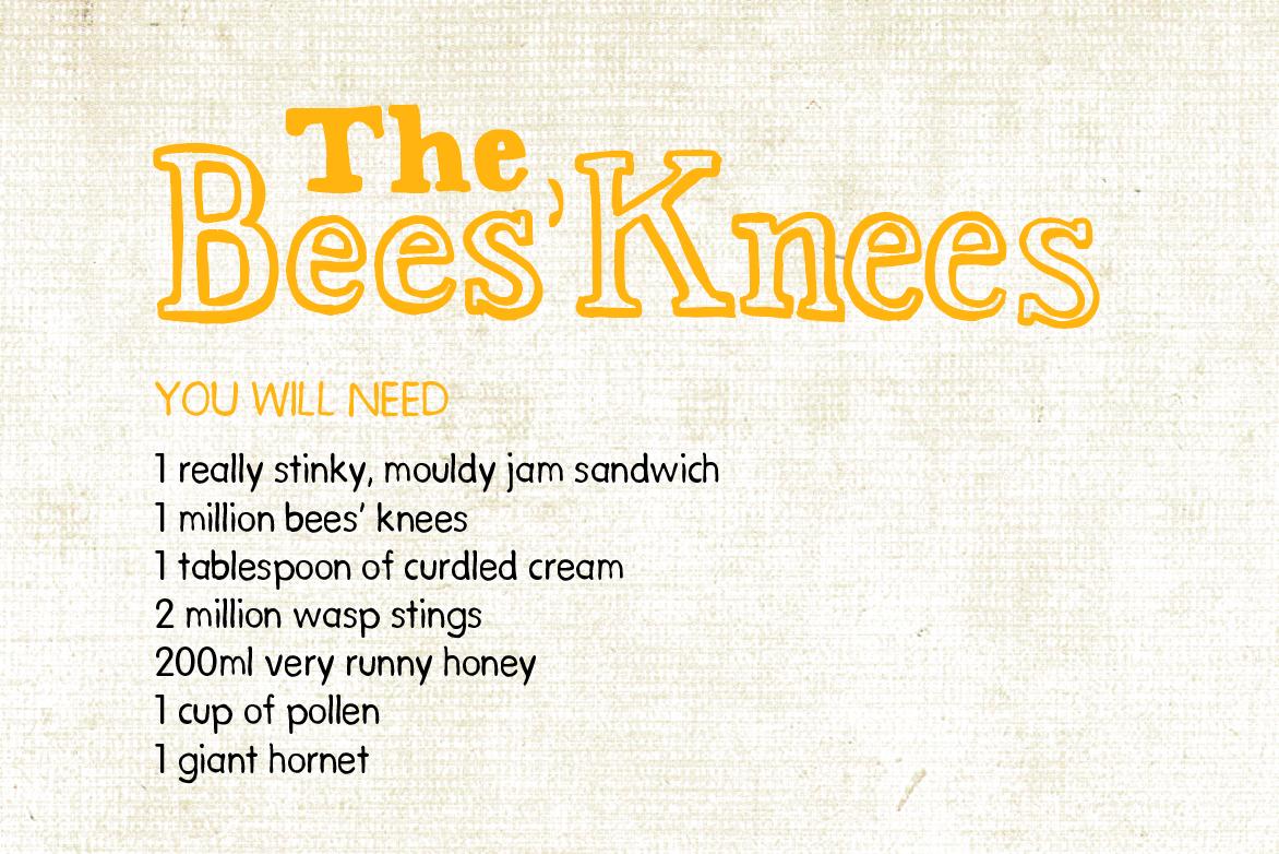Bees knees recipe
