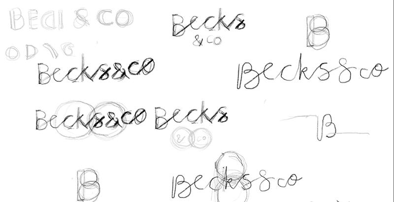 Some very rough scribbles in my sketchbook!
