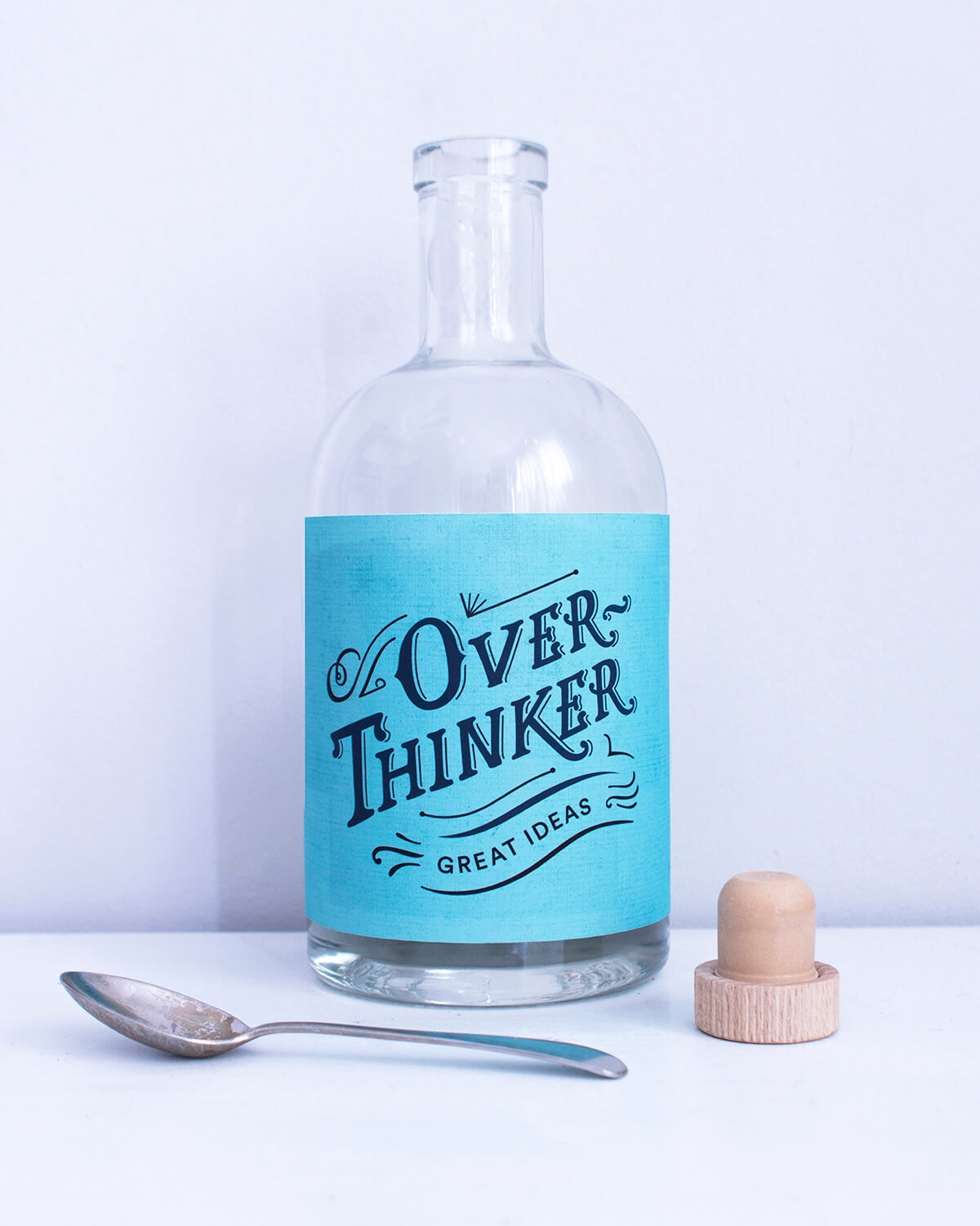 overthinker bottle