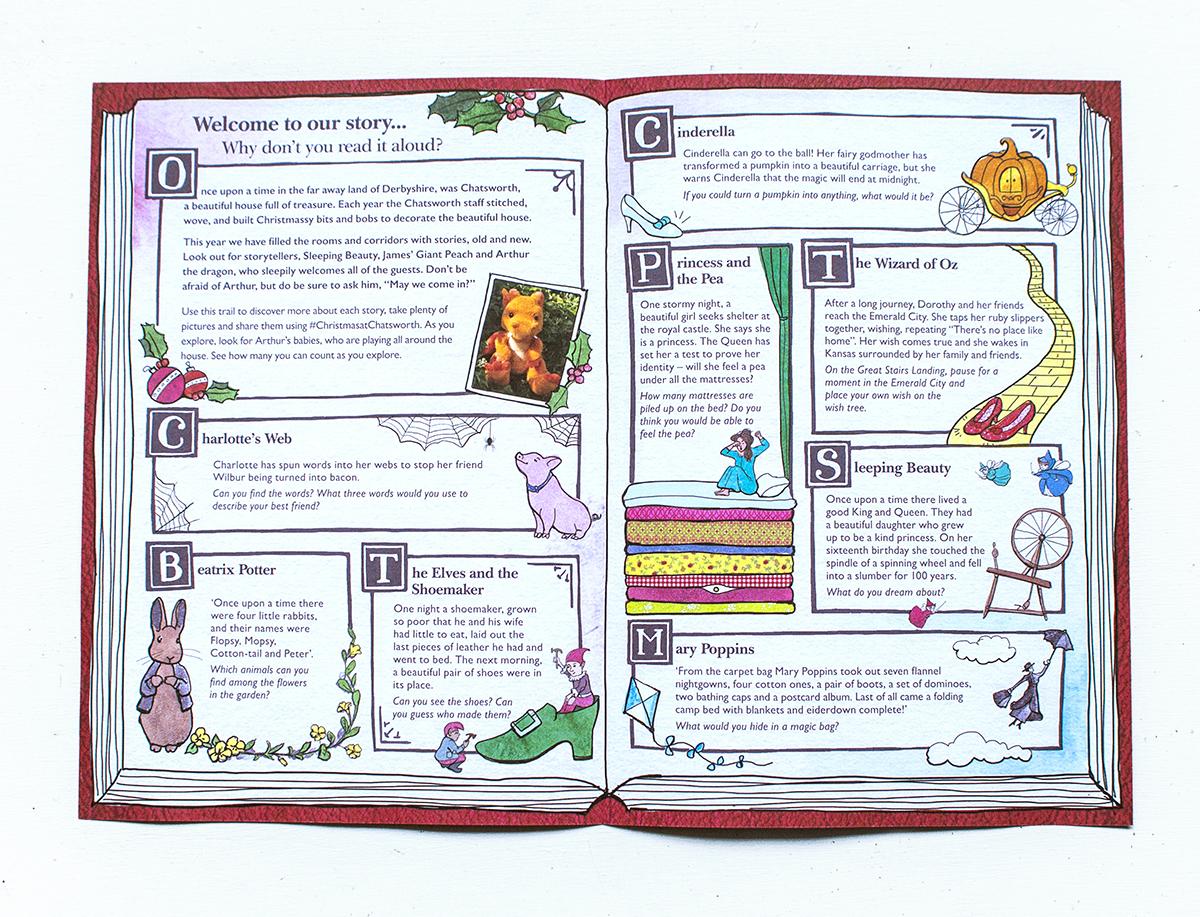 Chatsworth leaflet inner
