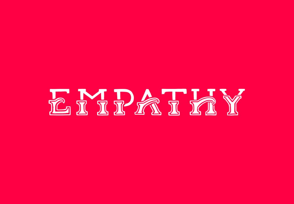 Empathy+typography