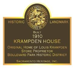 Sacramento Heritage, inc manages the city of Sacramento's historic plaque program. Click  here to learn more!
