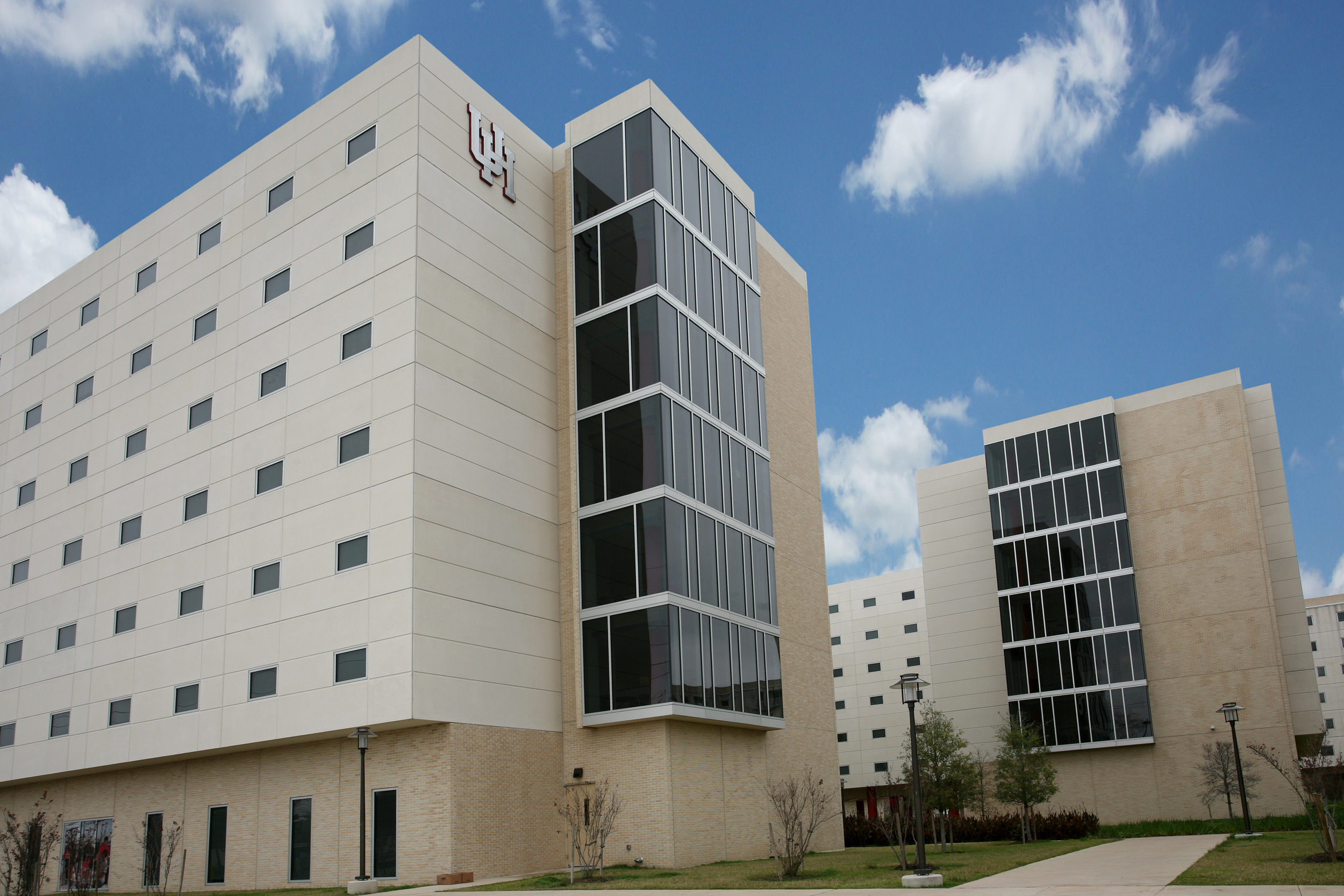 University of Houston Cougar Village. Project designed and managed by Oscar Valdez working at Haynes Whaley Associates