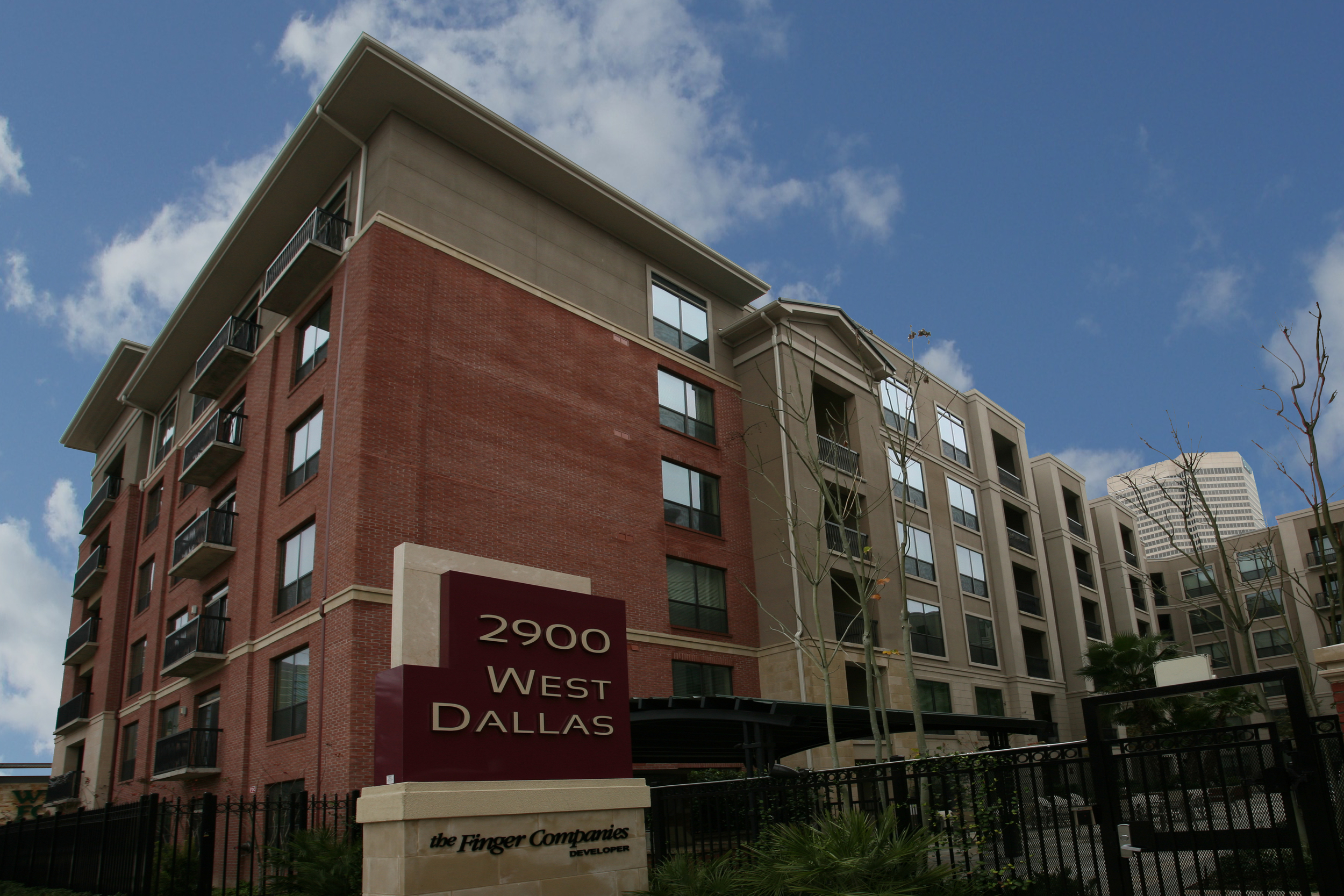 West Dallas Apartments. Project designed and managed by Oscar Valdez working at Haynes Whaley Associates