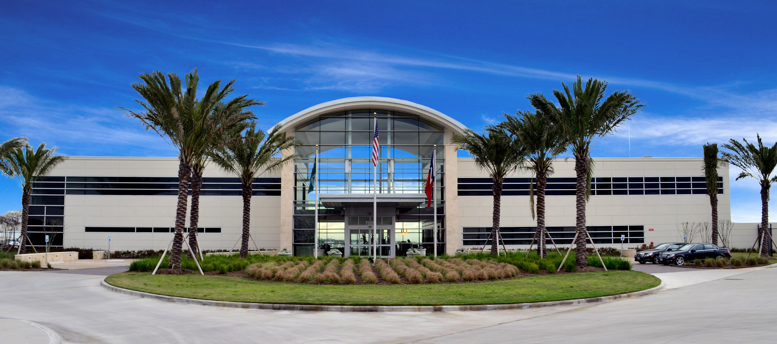Million Air Terminal. Project designed and managed by Oscar Valdez working at Haynes Whaley Associates