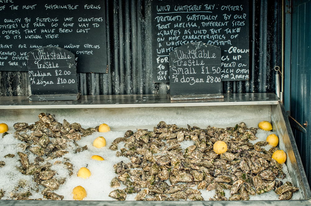 The Forge oyster shack is an unmissable experience. No fuss service with the best view of the sea. There are many types of oysters to sample here.